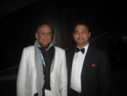 Gaurang Jalan with Mr L Suresh,President Film Federation of India in CIFF,Cairo